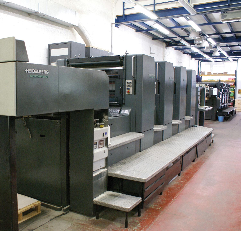 Maquinaria impresión