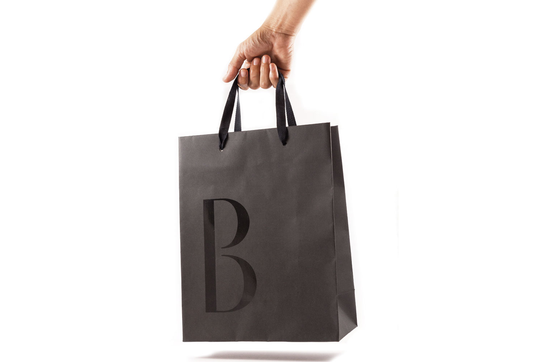 Bolsa de papel corporativo